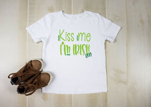 Youth T-Shirt - Kiss Me I'm Irish