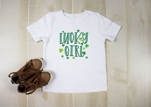 Youth T-Shirt - Lucky Girl