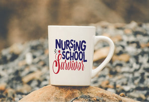 Mug 15oz. - Nursing School Survivor