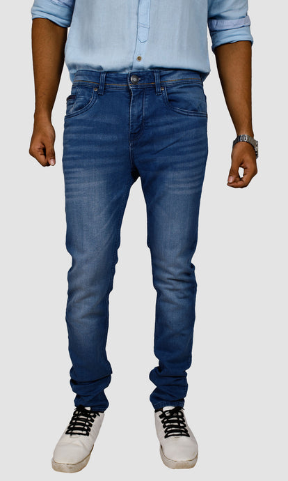 Men Indigo Slim Fit Jeans