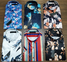 Load image into Gallery viewer, Men Floral Printed Shirts