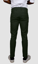 Load image into Gallery viewer, Men Checked Side Stripe Chinos