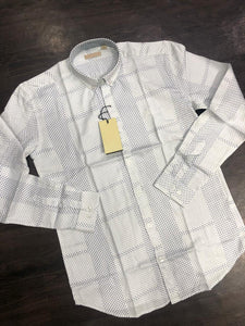 Men Polka Dot Printed Shirt