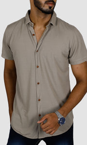 Men Lycra Cotton Slim Fit Casual Shirts