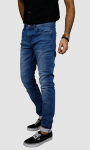Men Light Blue Slim Fit Jeans
