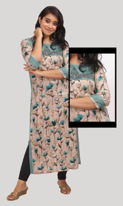 Floral Printed Daily Wear Kurti