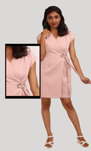 Load image into Gallery viewer, Salmon Trendy Party Wear Dress