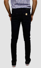 Load image into Gallery viewer, Men Dark blue Slim Fit Jeans