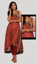 Load image into Gallery viewer, Brick Red High Low Daily Wear Kurti