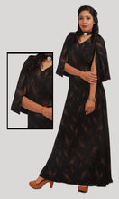Load image into Gallery viewer, Black Shimmery Trendy Evening Wear