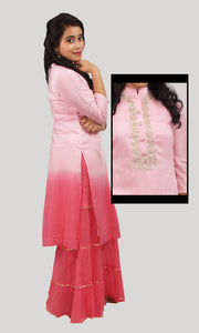 The Ombre Pink Set Ready To Wear Designer Collections