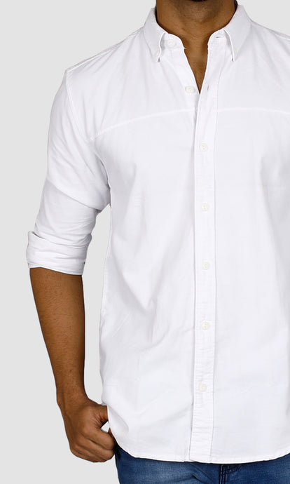 Men Slim Fit Casual Shirts