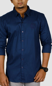 Men Cotton Slim Fit Casual Shirts