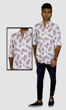 Load image into Gallery viewer, Men Pineapple Printed Slim Fit Casual Shirts