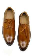 Load image into Gallery viewer, Men Brown Formal Brogues
