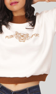 White Swede Pullover Women's Tshirt
