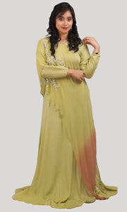 Wild Willow Green Gown Ready to Wear Designer Collections