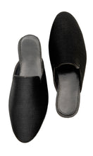 Load image into Gallery viewer, Men Black Slip-on Mules