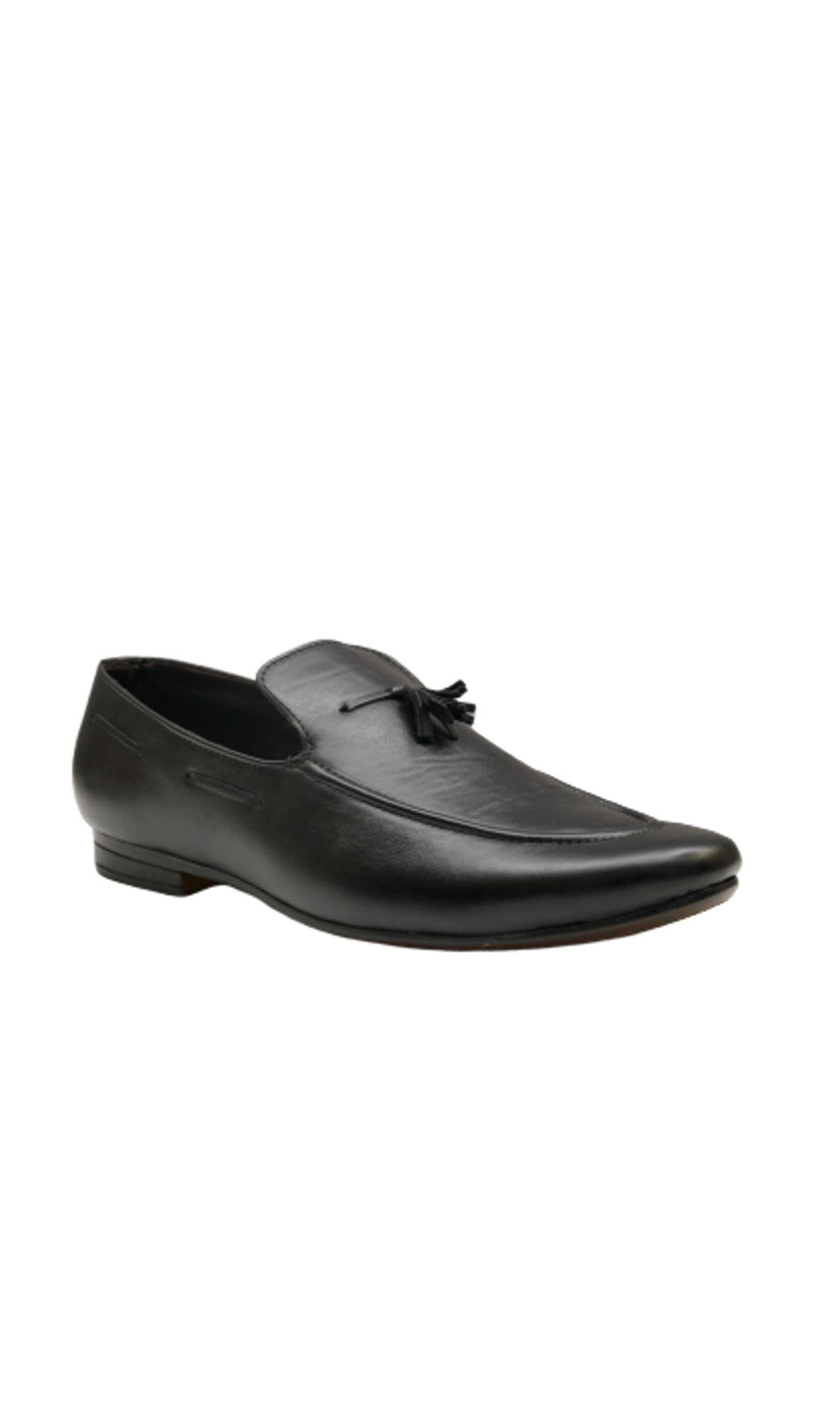 Men Black Slip-on Loafers