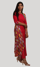 Load image into Gallery viewer, Rani Pink Maxi Kurti