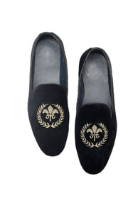 Men Dark Blue Loafers