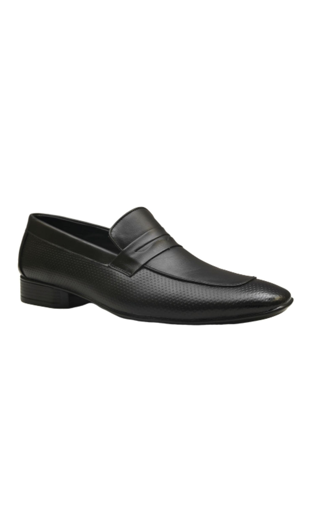 Men Black Penny Loafer