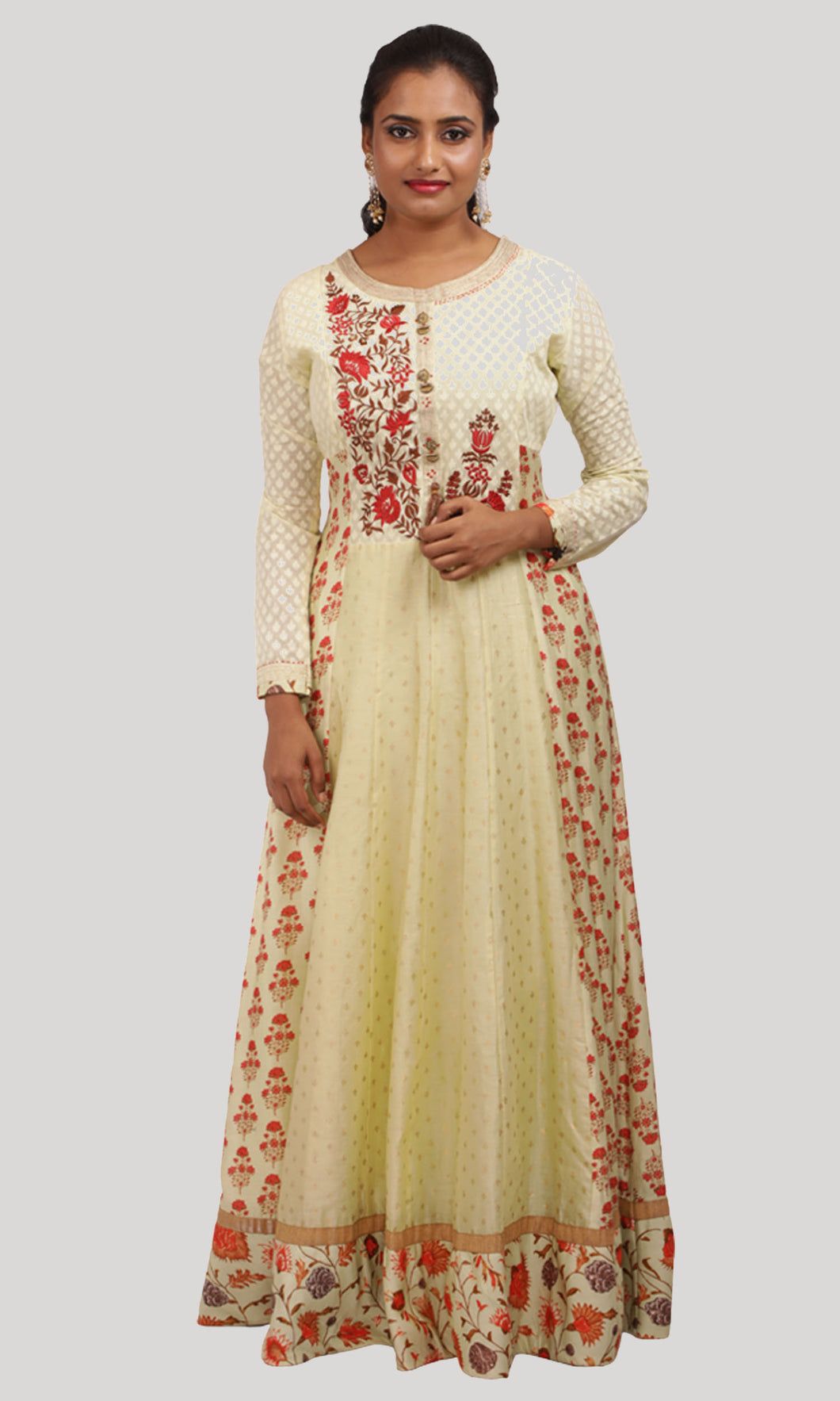 The Warm Sunshine Custard Yellow Ready to Wear Designer Collections