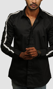 Men Satin Tape Shirts