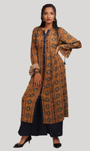 Load image into Gallery viewer, Mustard Brown Kurti With Palazzo Set