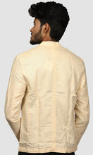 Load image into Gallery viewer, Men Yellow Solid Linen Jackets