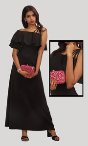 Black Evening Wear Gown