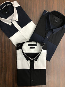 Men Color Blocked Shirts