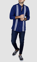 Load image into Gallery viewer, Men Full Sleeves Striped T-Shirts