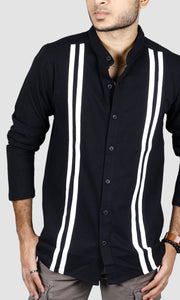 Men Full Sleeves Striped T-Shirts