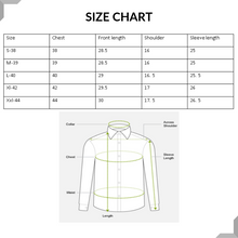 Load image into Gallery viewer, Men Thin Stripes Cotton Casual Shirts