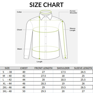 Men Slim Fit Cotton Double Pocket Casual Shirts