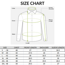 Load image into Gallery viewer, Men Half Sleeve Solid Slim Fit Casual Shirts