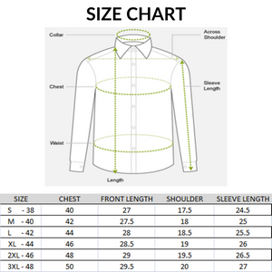 Men Cotton Solid Slim Fit Shirts