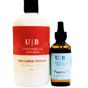 Piperita® Scalp Serum System with Non-Lather Cleanser - SOLD OUT!
