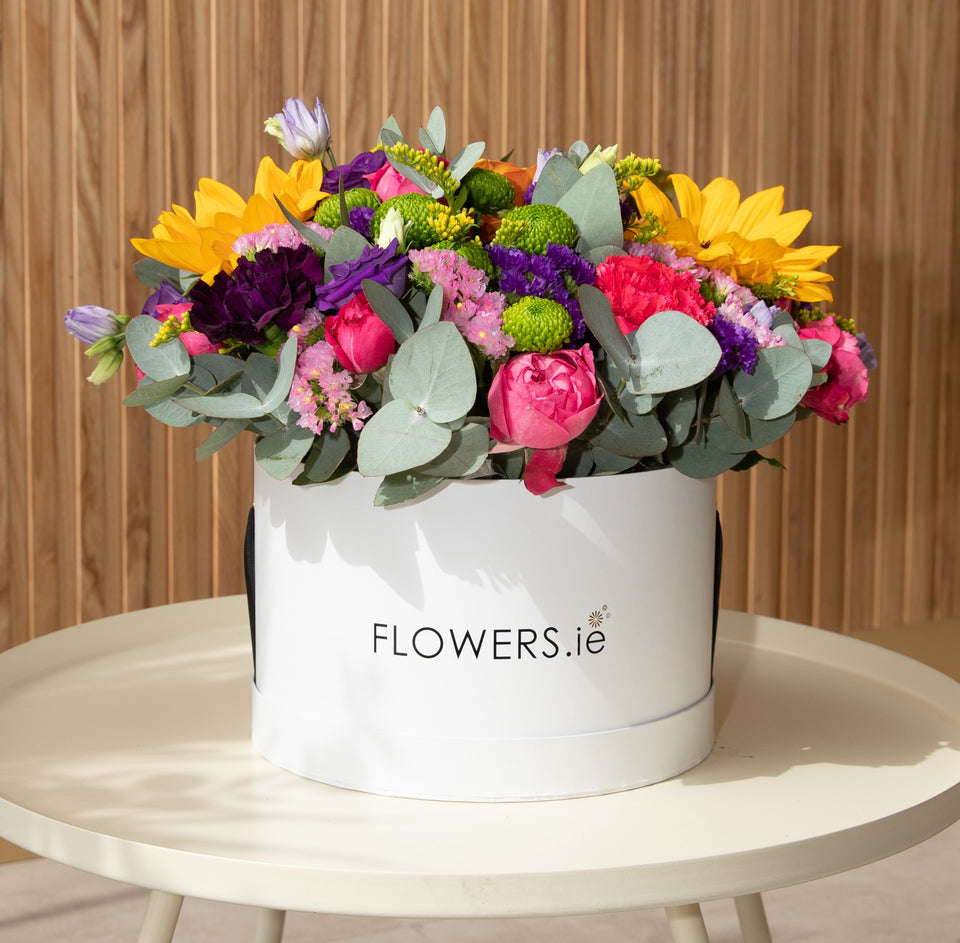 Research shows flowers can boost productivity & add joy when working from home
