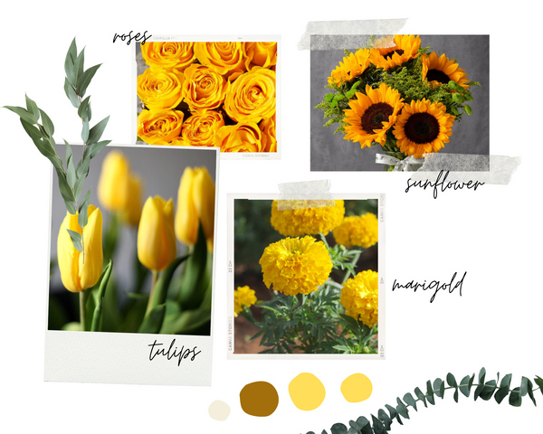 Famous yellow flower