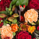Florist's Reflection Wreath. Assorted Flowers. Flowers may vary depending upon seasonal availability. Get fresh flowers from Flowers.IE. Same day flower delivery available.