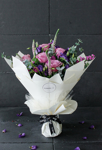 Lavender Floral Hand-tied
