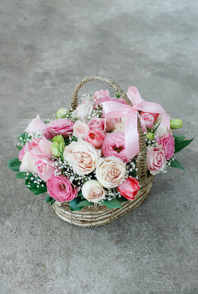 Sweet Garden Basket