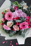 Pink Perfection Hand-tied. Sophistication, beauty, and understated elegance. Get fresh flowers from Flowers.IE. Same day flower delivery available.