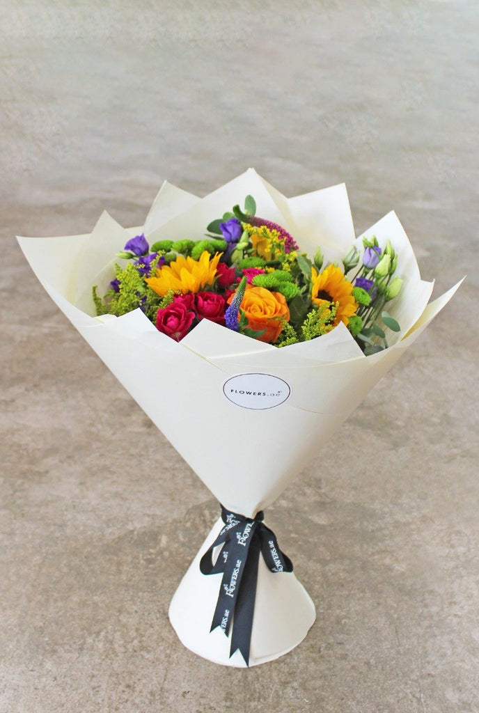 Vibrant Hand-tied with Monastrell Rosado - Free Upgrade to in a Vase