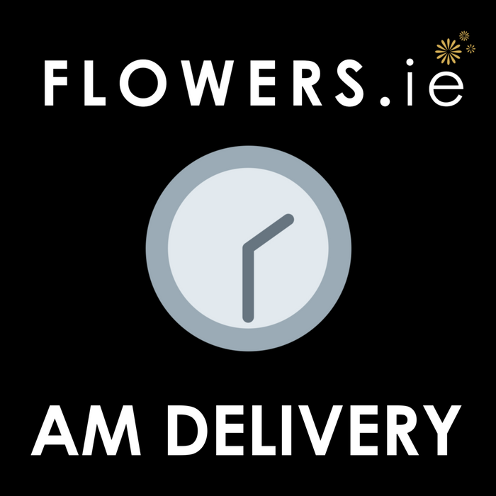 AM Delivery (9am - 1pm) Extra €4.95