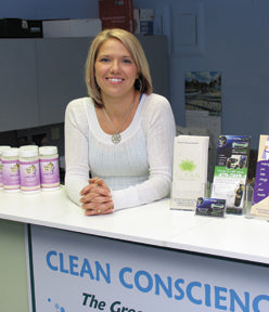Amanda Schofield - Clean Conscience Founder