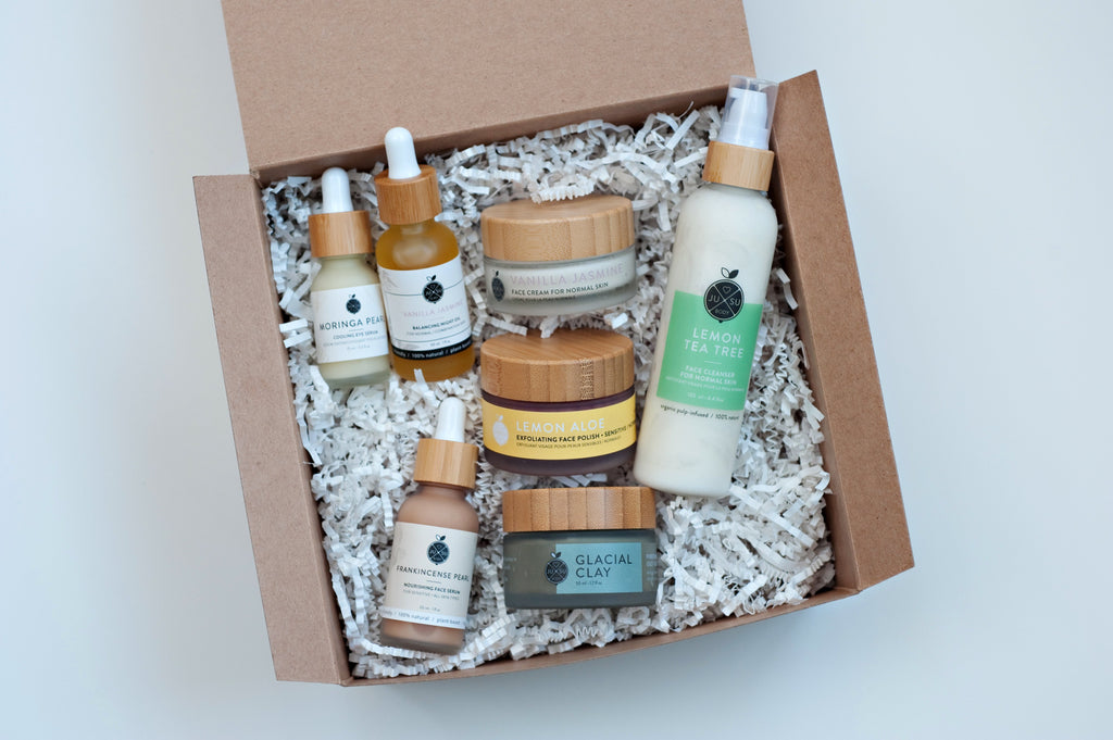 plant-based skincare, face cream, eye serum, nontoxic skincare, Vanilla Jasmine skincare, clean face moisturizer, nontoxic natural products, plant-based facial oil