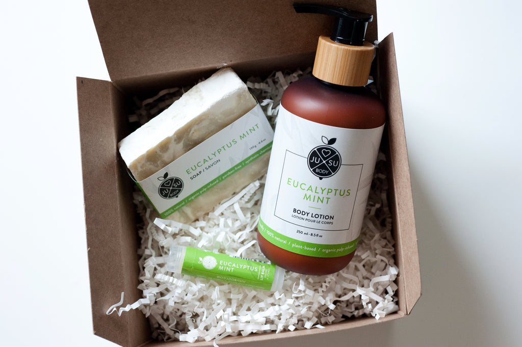 EUCALYPTUS MINT GIFT SET TRIO